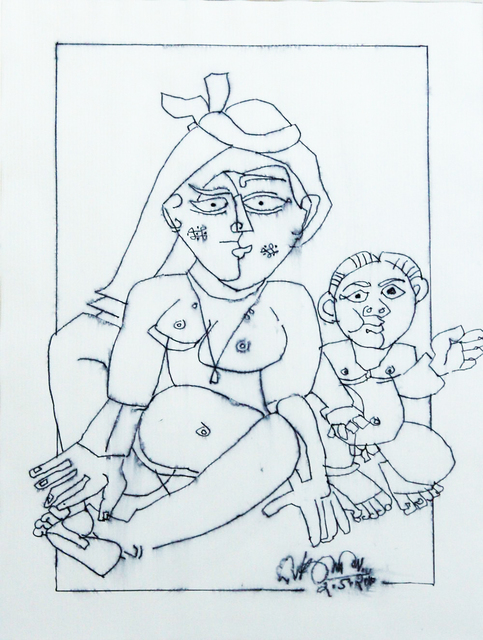 , 'Mother & Child (Homage to Picasso),' 2006, The Noble Sage Collection