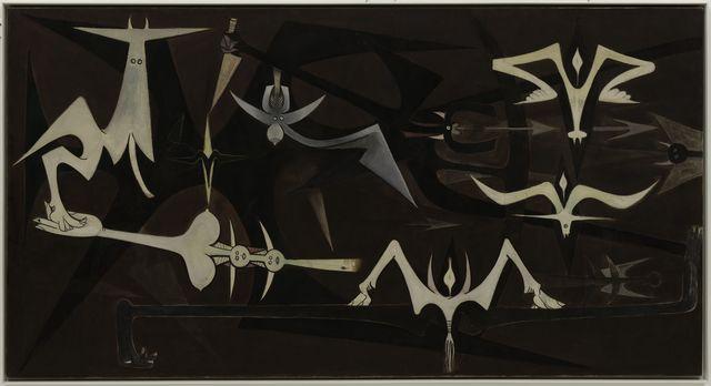 , 'La Rumeur de la terre,' 1950, Centre Pompidou