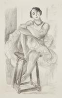 Henri Matisse, Danseuse au tabouret, from Dix danseuses (Dancer on Stool, from Ten Dancers)