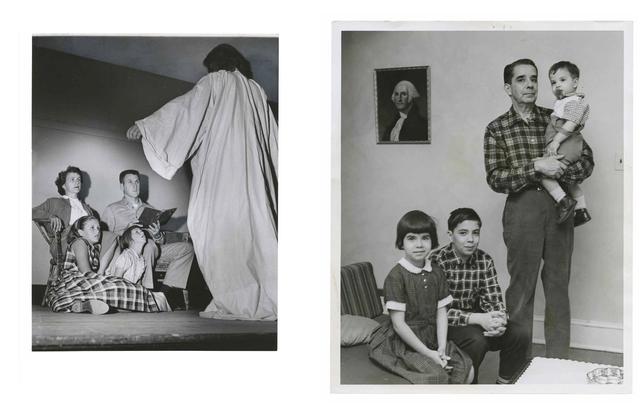 , 'TQ 15/16: Nativity Play/Cuban Refugee,' 1957/1965, Moss Bureau
