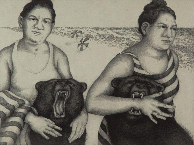 , 'Beach,' 2015, Ruiz-Healy Art