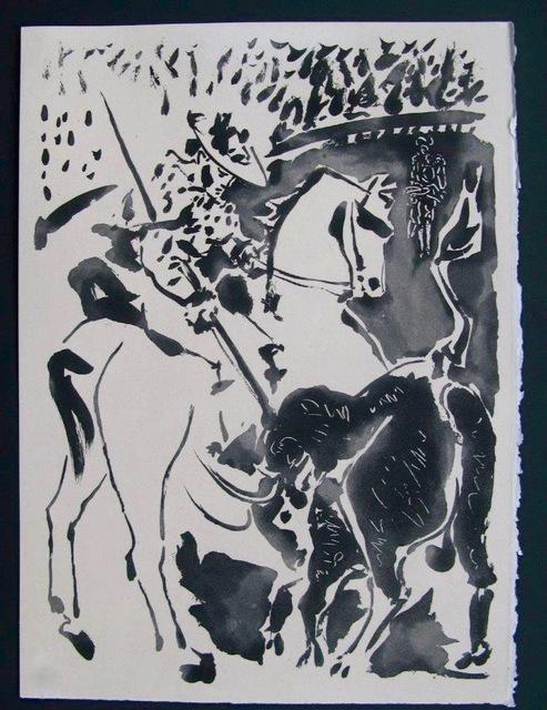 """Pablo Picasso, 'Picador et Taureau, from """"Le Carmen des Carmen""""', 1949, Dawson Cole Fine Art"""