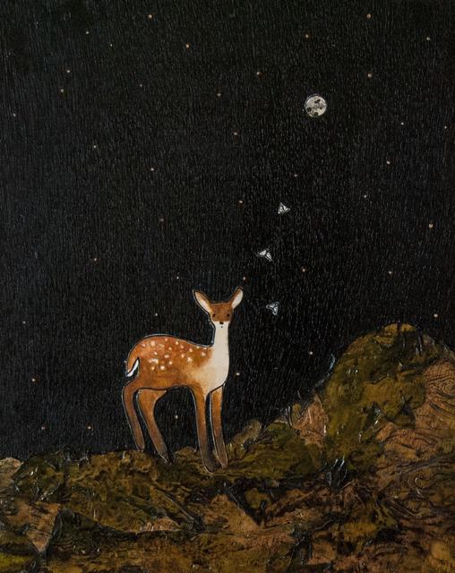 Ashley Anne Clark, 'Deer with Moths', 2018, Lotton Gallery