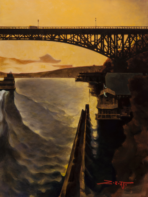, 'Aurora Bridge,' 2018, Patricia Rovzar Gallery