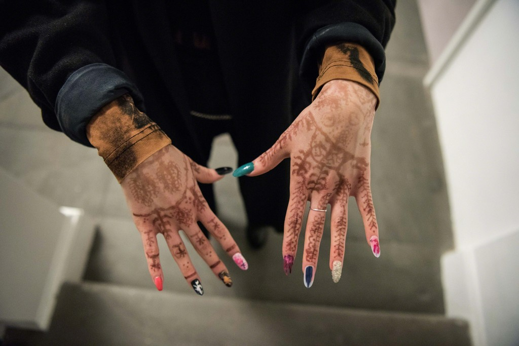 "Yves Scherer, ""Nail Care,"" 2018, ""New Swiss Performance Now,"" Kunsthalle Basel, 2018.