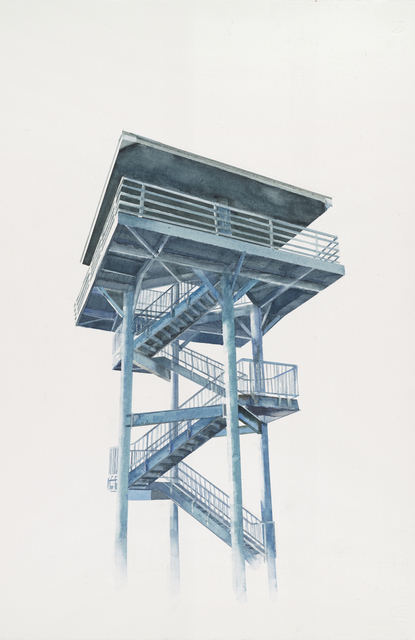 , 'Westport Observation Tower,' 2015, G. Gibson Gallery