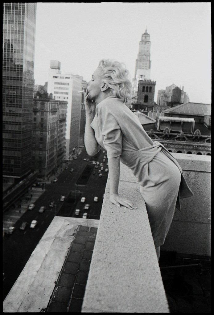 'Marilyn On The Roof' (Smoking)
