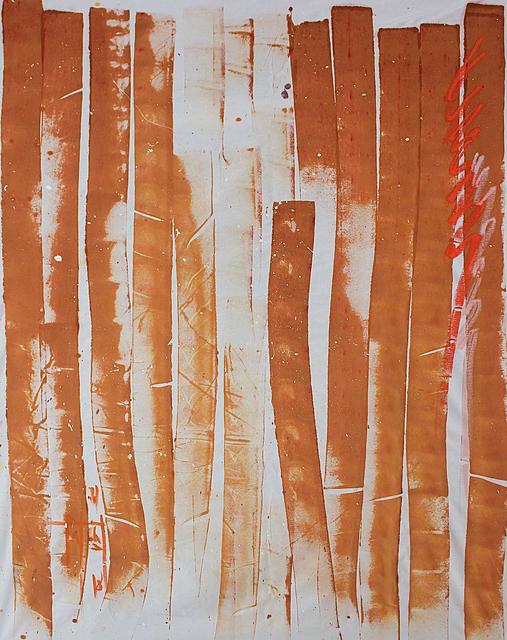 Firouz Farmanfarmaian, 'Earthside Large Panel', 2018, Janet Rady Fine Art