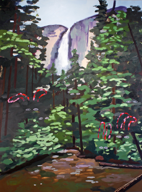 , 'Yosemite Falls and Forest Ghosts,' 2013, G. Gibson Gallery