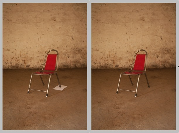 , 'A chair, somewhere,' 2013, Grey Noise