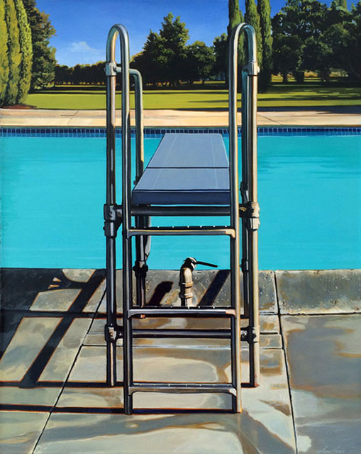 , 'Diving Board,' 2014, Sue Greenwood Fine Art