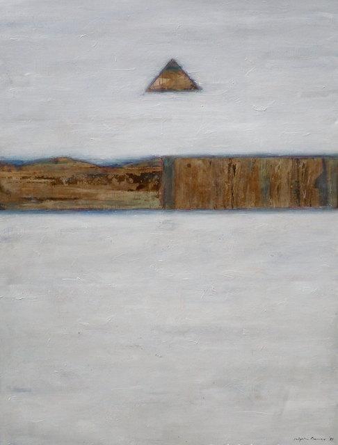, 'White Shima,' 198, Elins Eagles-Smith Gallery
