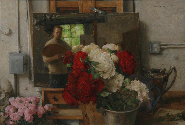 , 'Studio Mirror,' 2018, Maxwell Alexander Gallery
