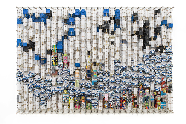 Jacob Hashimoto, 'On the Material Aspect of Dislocation, Magic and Possibility itself', 2019, MAKASIINI CONTEMPORARY