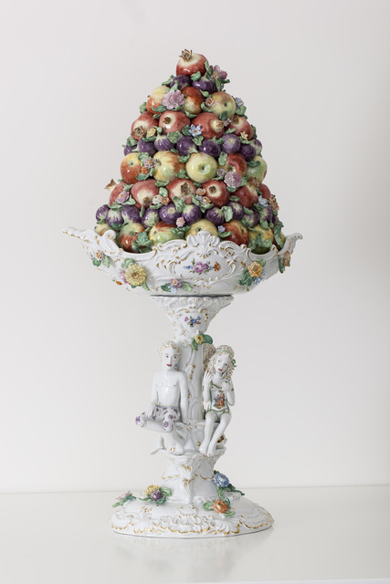 , 'Fruit Pyramid I[Courtesy MEISSEN COUTURE® Art Collection],' 2014, Cynthia Corbett Gallery