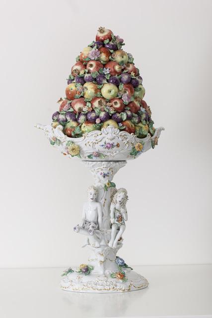 , 'Fruit Pyramid I[CourtesyMEISSEN COUTURE®Art Collection],' 2014, Cynthia Corbett Gallery