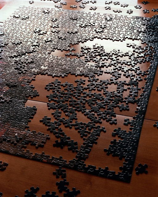 , 'My Mother's Puzzle, Oldwick, New Jersey,' 2000, Aperture Foundation