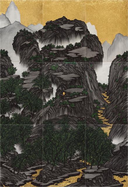 , 'Brain Landscape II: Paleozoic ,' 2015, Tina Keng Gallery
