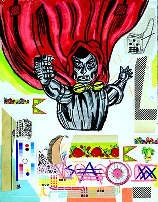 , 'One-half Doctor Doom,' 2016, Erdmann Contemporary