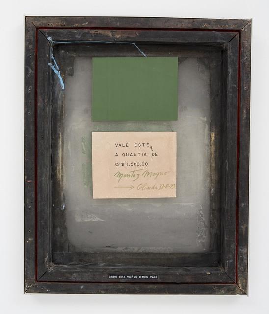 , 'Como era verde meu vale ,' 1973, Bergamin & Gomide