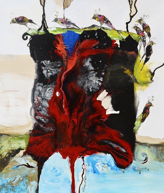 Frank David Valdés, 'Passage 5', 2018, Painting, Mixed media on canvas, ArteMorfosis - Cuban Art Platform