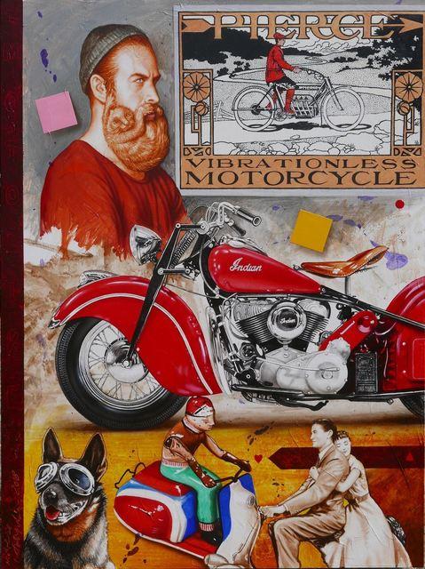, 'Motorcycle ,' 2018, Yang Gallery