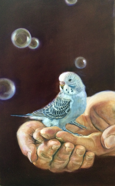 , 'Bird in Hand,' 2015, Sue Greenwood Fine Art