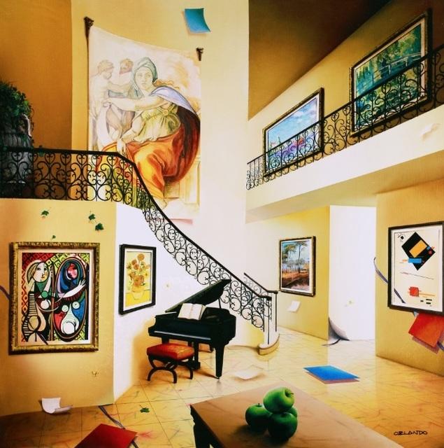 , 'Piano's Corner,' 2012, Blue Gallery