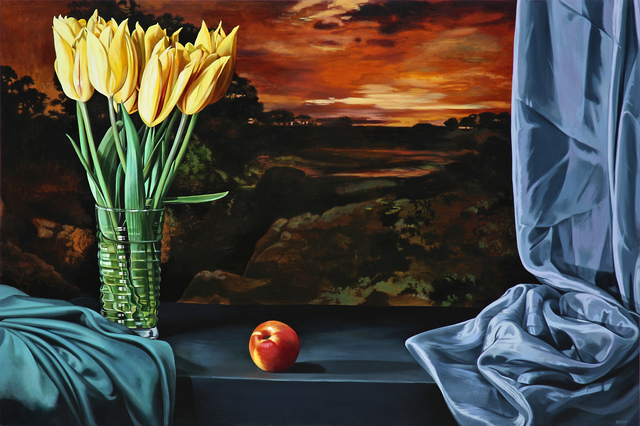 Sherrie Wolf, 'Nectarine with Yellow Tulips', 2016, Russo Lee Gallery