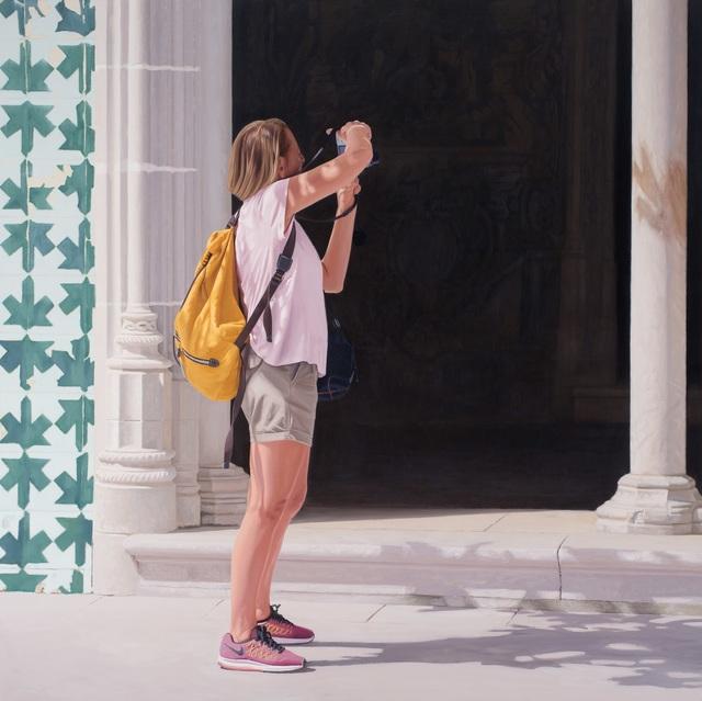 Carlos Vega Faúndez, 'Serie Turistas #4', 2019, Ansorena Galeria de Arte