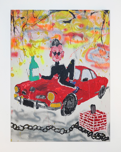 , 'LA & Champagne & Karmann Ghia,' 2016, SADE