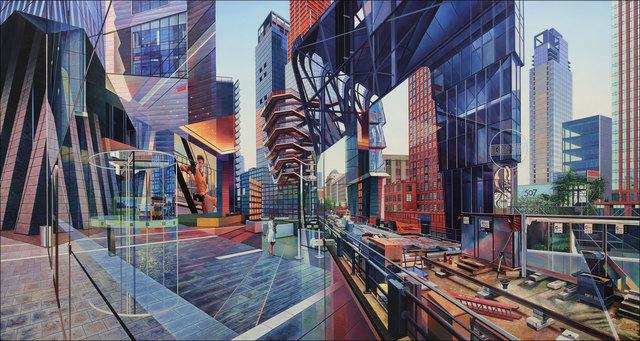 , 'Hudson Yards,' 2019, Clark Gallery