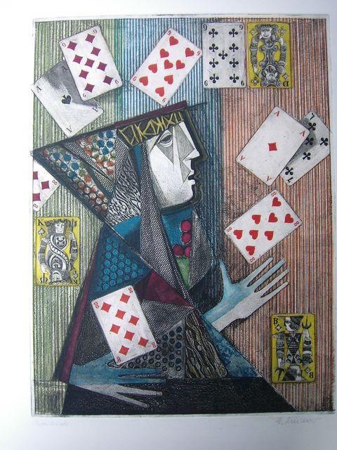 Alfred Finsterer, 'Zauberer / Magician', 1973, Sylvan Cole Gallery