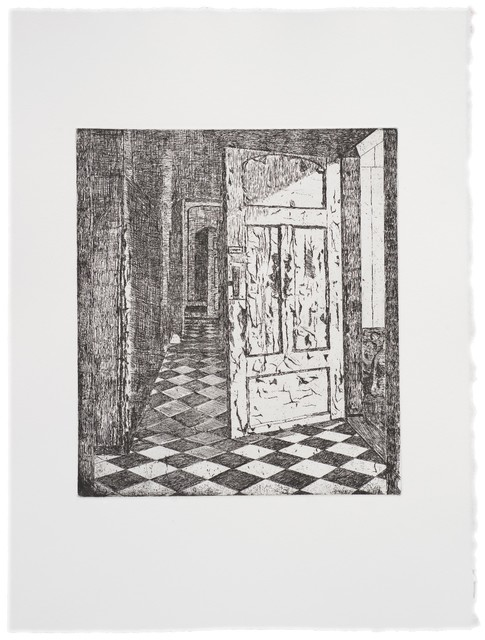 , 'Behind the Door 1 (BW),' 2013, Rén Space