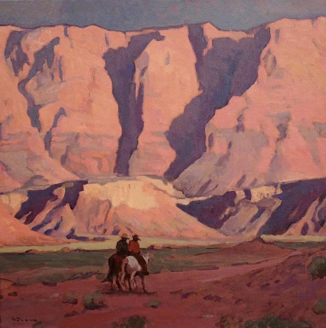 "Glenn Dean, '""Shadow Riders""', 2017, Painting, Oil, Maxwell Alexander Gallery"