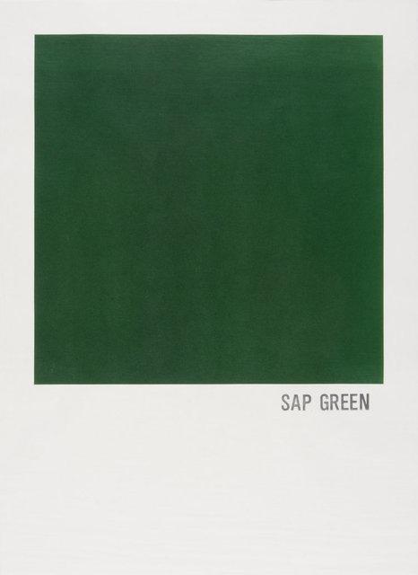 , 'Sap Green,' 2017, Burnet Fine Art & Advisory