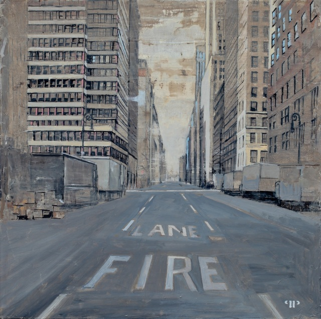, '5th Ave, 42nd St, Walking to Downtown,' 2014, Cynthia Corbett Gallery
