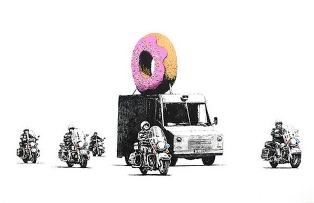 Banksy, 'Donut (Pink/Strawberry) - Signed', 2009, Harper Deyong