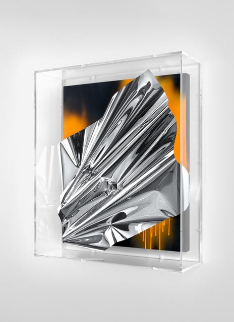 Anselm Reyle, 'Untitled', 2020, Mixed Media, Mixed media on canvas, acrylic glass, KÖNIG GALERIE