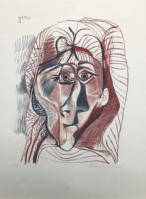 Pablo Picasso, 'VISAGE DE FEMME DE FACE', 1979-1982, Gallery Art