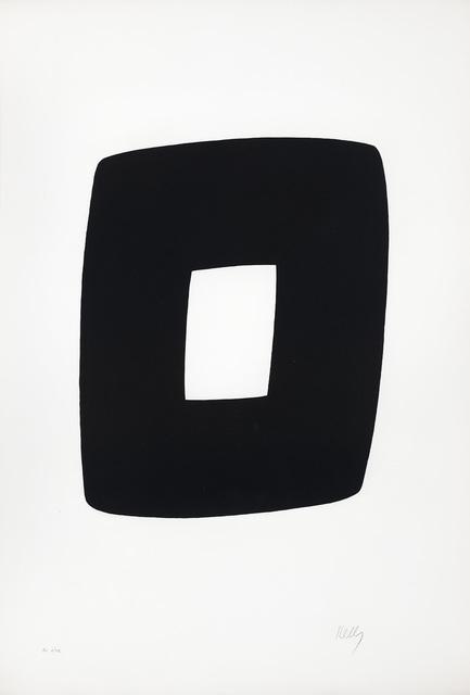 Ellsworth Kelly, 'Black and White', 1964, Galerie Lelong & Co.