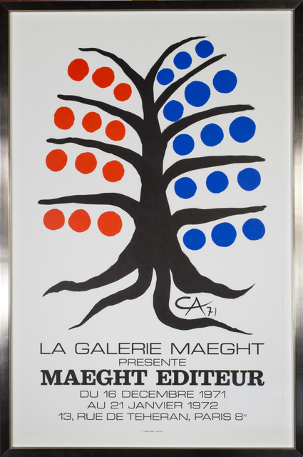 Alexander Calder, 'Maeght Editeur', 1971-1972, David Barnett Gallery