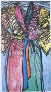 , 'Fourteen Color Woodcut Bathrobe,' 1982, Galerie Maximillian
