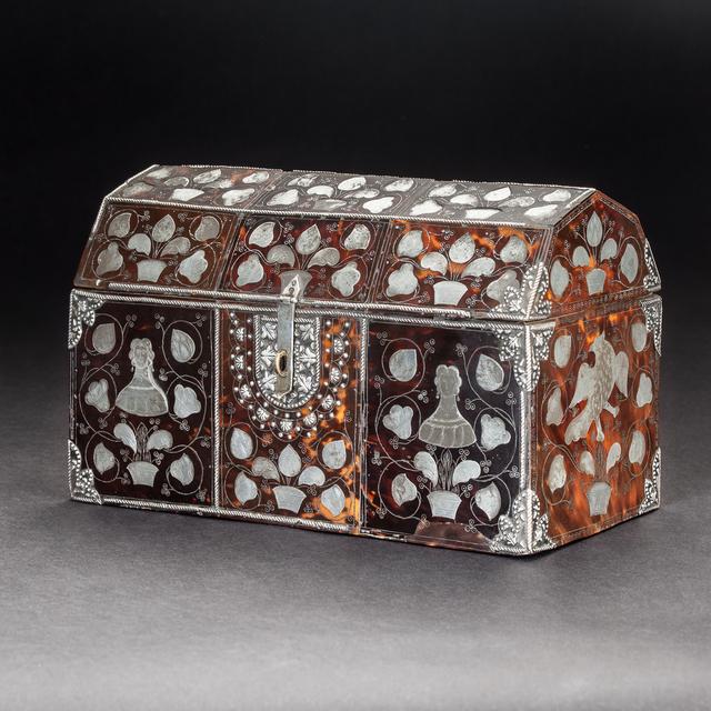 , 'Tortoiseshell Box,' 18th century, Diptych Fine Arts