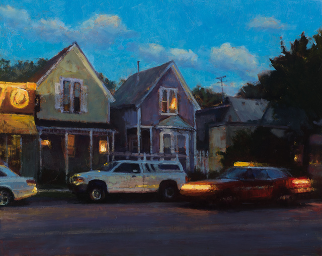 , 'Moving Taxi,' 2017, Susan Calloway Fine Arts