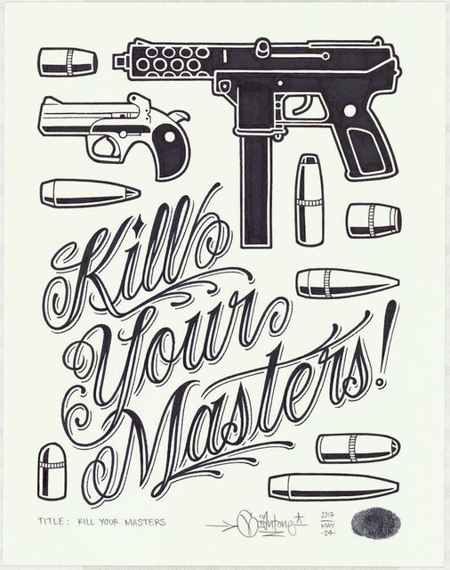 , 'Kill Your Masters,' 2017, Black Book Gallery