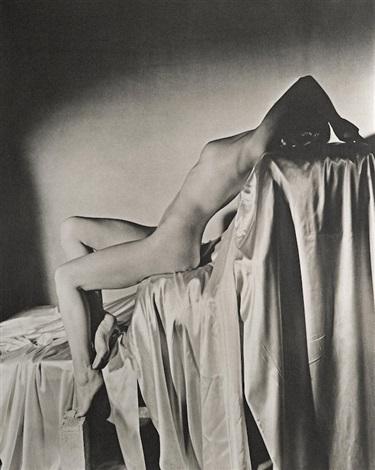 , 'Lisa on Silk, New York,' 1940, Bernheimer Fine Art