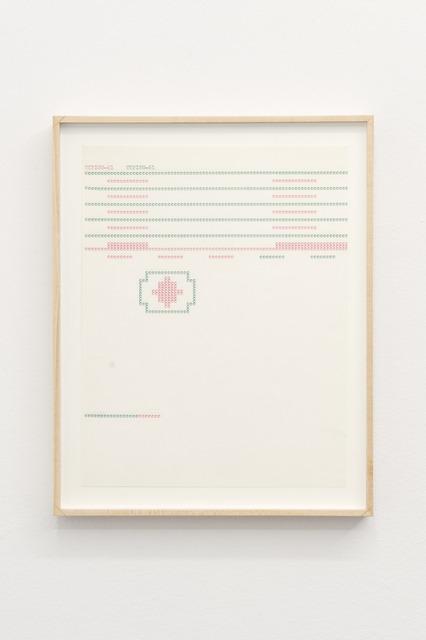 , 'Typing-61,' n.d., Nogueras Blanchard