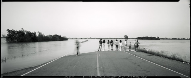 , 'Flood over RT 34, Ellis County, May 7, 1990,' 1990, Fort Worth Contemporary Arts