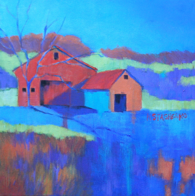 , 'Sherborn Farm,' ca. 2018, Copley Society of Art